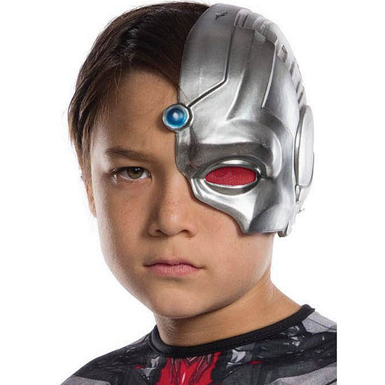 Cyborg 1/2 Child Mask- One Size Fits Most