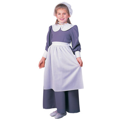 Kids Pilgrim Girl Costume