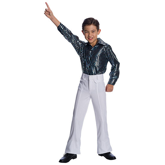 Boys Sychedelic Swirl Disco Shirt