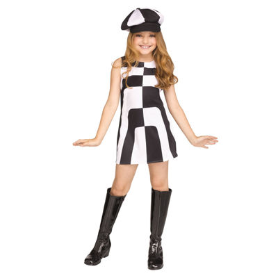 Mod 60's Girl Costume