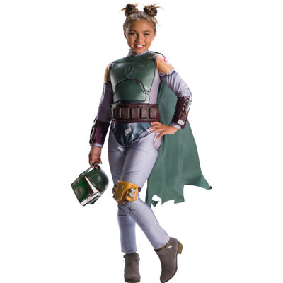 Star Wars Classic Girls Boba Fett Costume