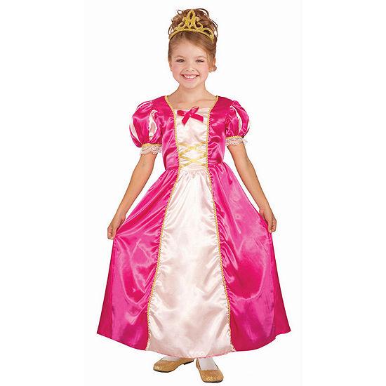 Girls Princess Cerise Costume