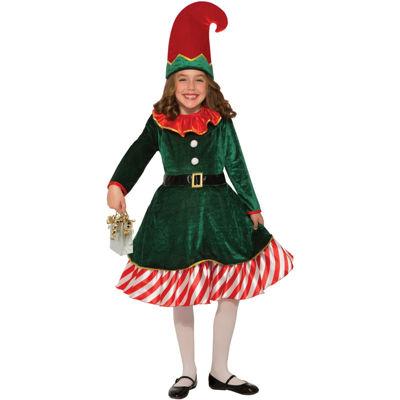 Buyseasons Santa'S Little Elf 2-pc. Dress Up Costume Girls