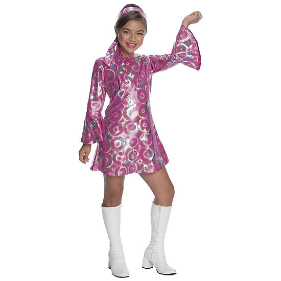 Girls Disco Princess Costume Girls Costume