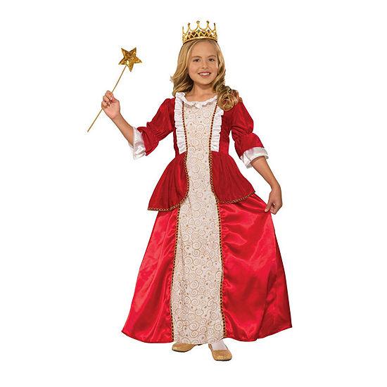 Girls Princess Rachel Red  Costume