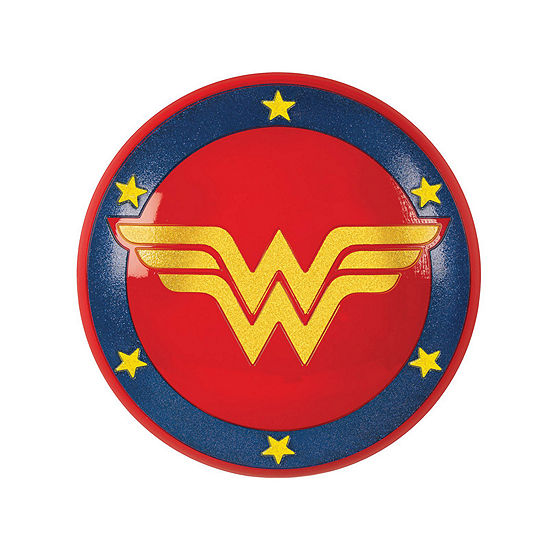 Dc Super Hero Girls Wonder Woman Shield- One Size Fits Most