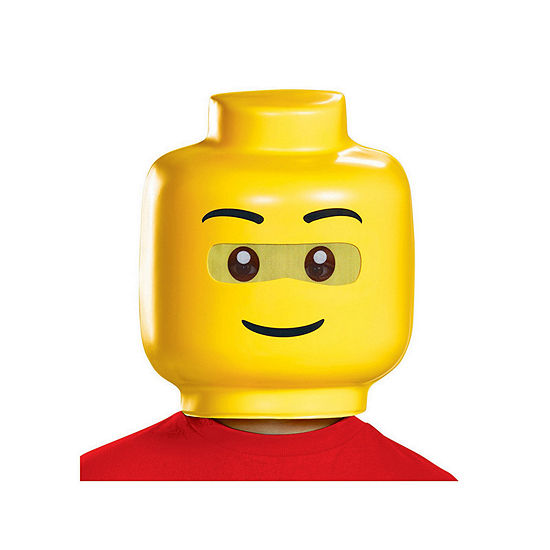 Lego Iconic Lego Guy Child Mask- One Size Fits Most