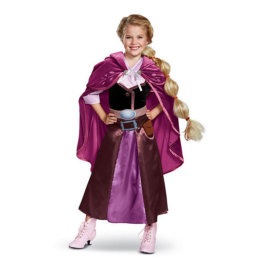 Tangled the Series Season 2 Rapunzel Deluxe TravelOutfit Child Costume