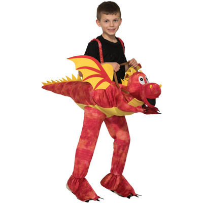 Kids Ride-A-Dragon Costume- One Size Fits Most