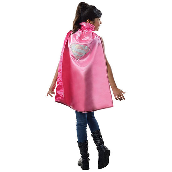 Kids Supergirl Deluxe Cape- One Size Fits Most