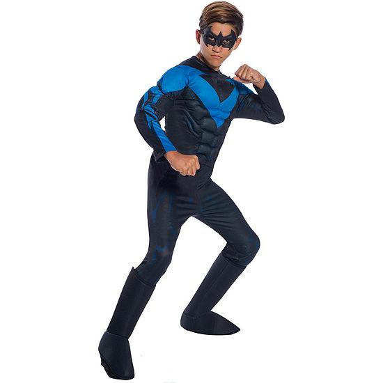 Dc Comics Boys Deluxe Nightwing Costume