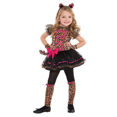 Precious Leopard Toddler Costume