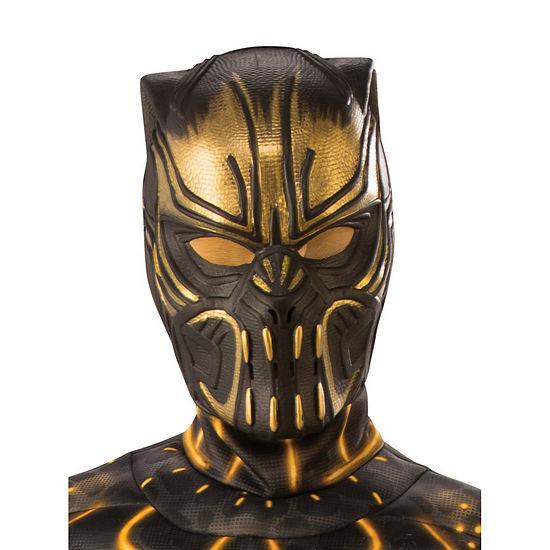 Marvel Black Panther Movie Erik Killmonger Child 1/2 Mask- One Size Fits Most