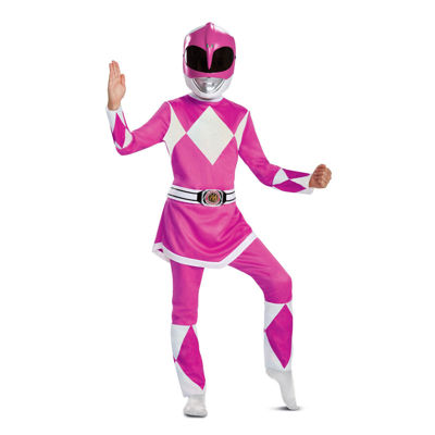 Power Rangers - Mighty Morphin  Pink Ranger DeluxeChild Costume