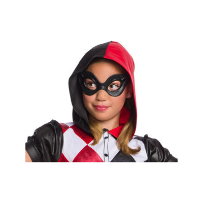 Dc Super Hero Girls Harley Quinn Mask- One Size Fits Most