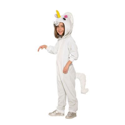 Girls Unicorn Jumpsuit Costume