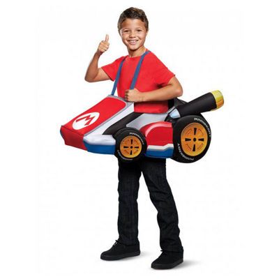 Super Mario Bros.  Mario Kart Child Costume- One Size Fits Most