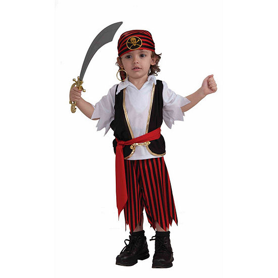 Toddler Lil' Pirate Boy Costume