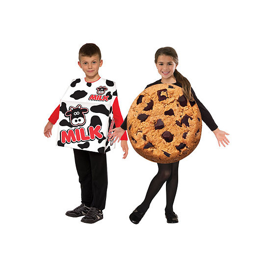 Kids Milk and Cookies Costume Set- One Size Fits Most