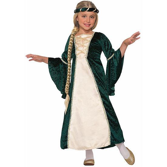 Girls Lady Of Sherwood Costume