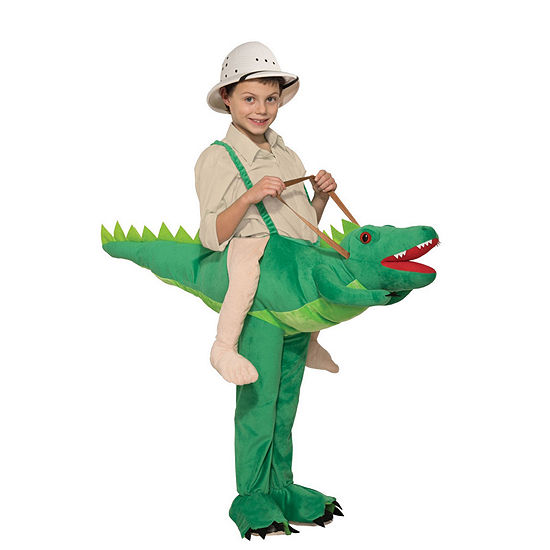 Kids Ride-A-Alligator Costume- One Size Fits Most