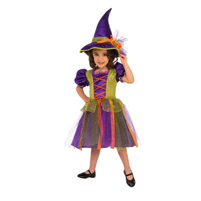 Kids Pumpkin Witch Costume