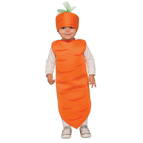 Baby Carrot Costume Toddler
