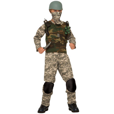 Boys Combat Trooper Costume