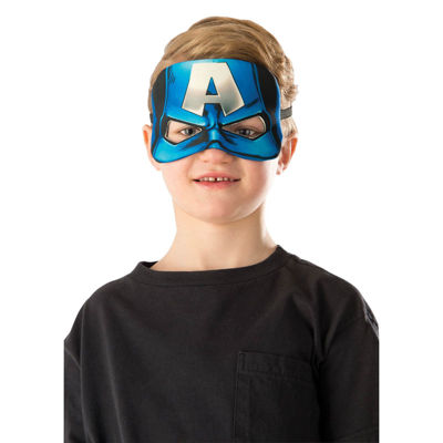 Captain America Plush Eye Mask- One Size Fits Most