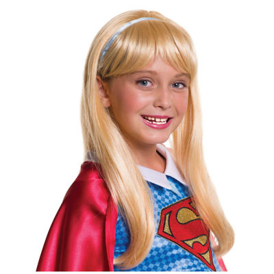 Kids Supergirl Wig- One Size Fits Most