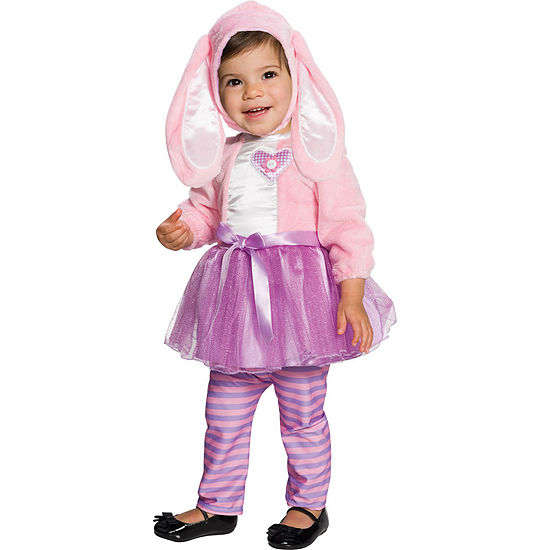 Baby Pink Bunny Costume (2T)