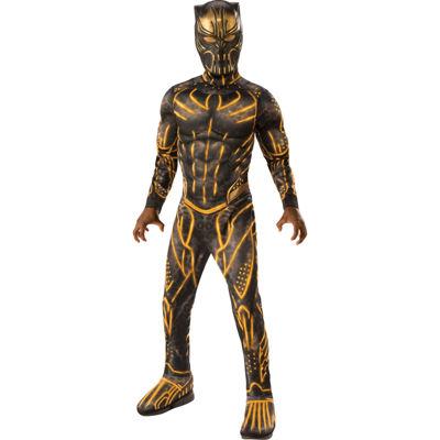 Marvel Black Panther Movie Deluxe Boys Erik Killmonger Battle Suit Costume