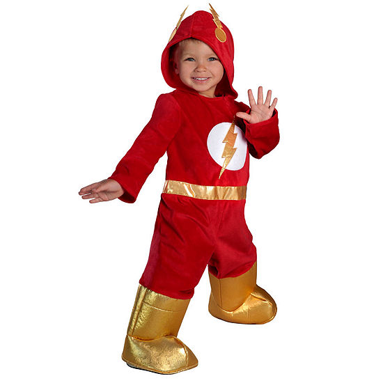 The Flash Premium Toddler Jumpsuit Costume