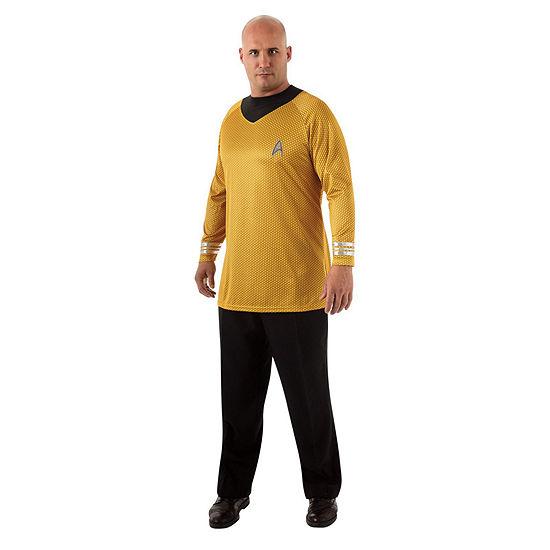 Star Trek Mens Deluxe Captain Kirk Plus Dress Up Costume Costume Costume