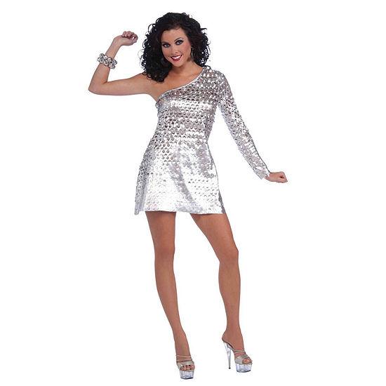 Womens Sexy Disco Honey Costume