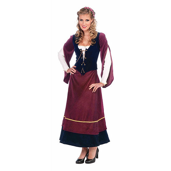 Buyseasons Womens Medieval Wench Adult Costume 2-pc. Dress Up Costume