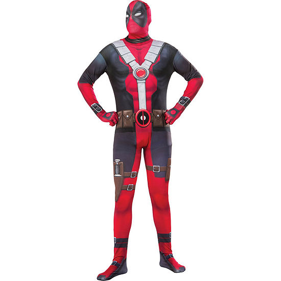 Deadpool 2nd Skin Adult Dress Up Costume 2-pc. Deadpool Dress Up Costume
