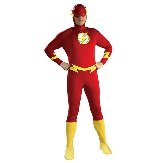 DC Comics Flash Halloween Costume Men's Large