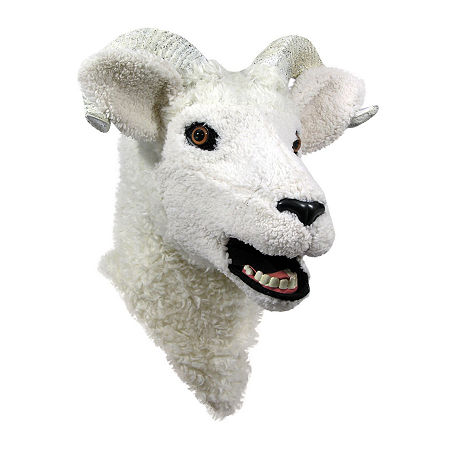 Moving Jaw Ram Mask, One Size , Multiple Colors