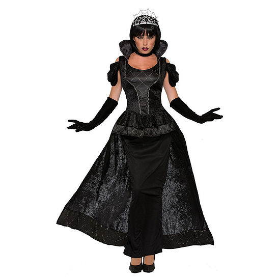 Womens Royal Dark Queen Costume 2-pc. Dress Up Costume