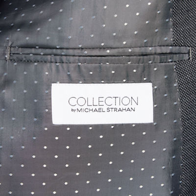 Collection by Michael Strahan  Collection By Michael Strahan Dots Stretch Suit Jacket-Big and Tall