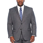 Collection By Michael Strahan Dots Stretch Suit Jacket-Big and Tall
