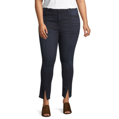 Rewash Womens Skinny Fit Jean - Juniors Plus