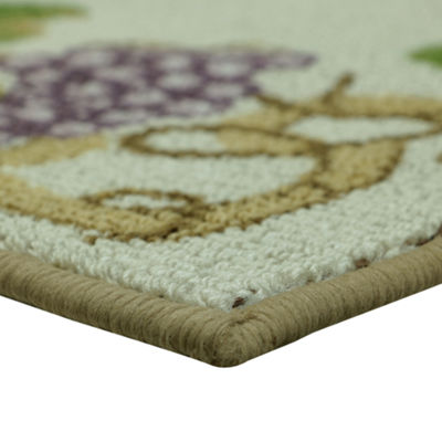 Bacova Guild Classic Berber Grapevine Rectangular Runner and Accent Rugs