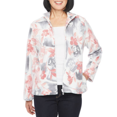 Alfred Dunner Classics Polar Fleece Lightweight Jacket