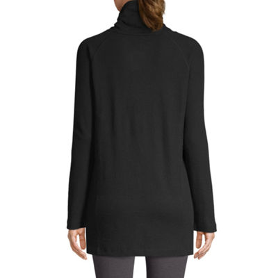 St. John's Bay Active Long Sleeve Thermal Tunic