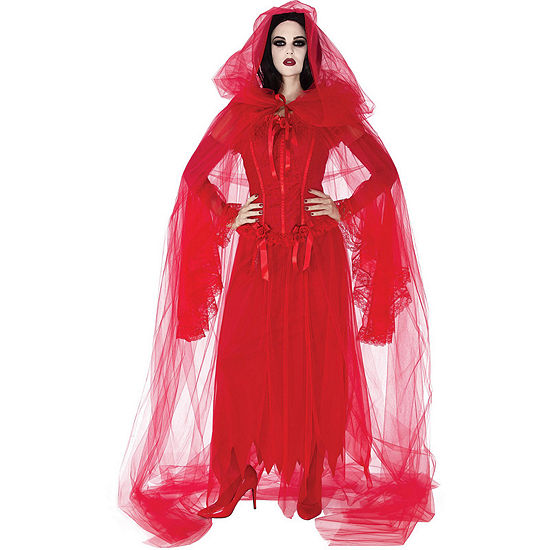 Cursed Scarlet Red Cape