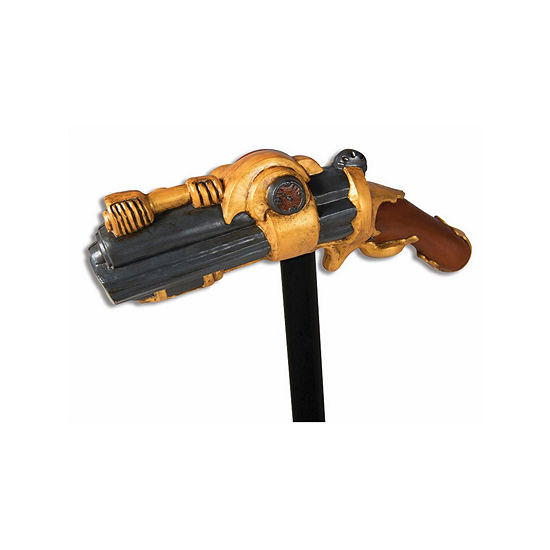 Steampunk Pistol Cane Dress Up Accessory