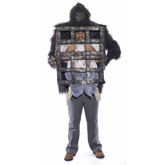 Adult Gorilla With Cage Costume