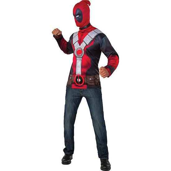 Buyseasons Deadpool Adult Costume Top Dress Up Costume 2-pc. Deadpool Dress Up Costume